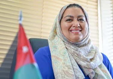 Mrs. Zain Al-Awamleh, Director of the Industrial Property Protection Directorate